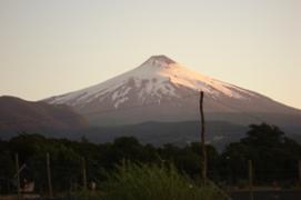 El Calabozo volcano in Chile